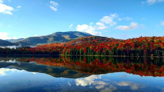Heart Lake - Adirondacks, NY [OC] [3264 × 1836] ...:
