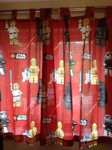 Next Lego Star Wars Curtains Rrp 35 New Tab Top