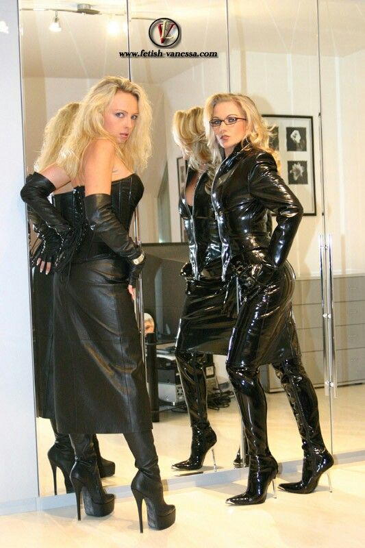 Latex & leather lovers #5