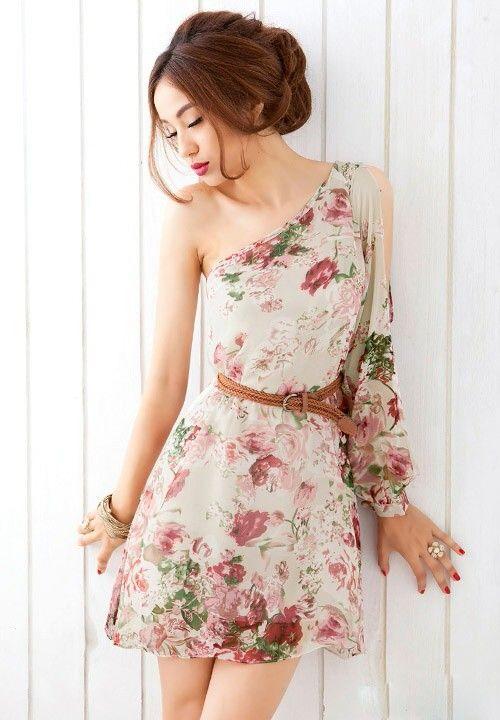 Floral Dress! This Style Is So Pretty! [ BodyBeautifulLaserMedi-Spa.com ] #fashion #spa #beauty