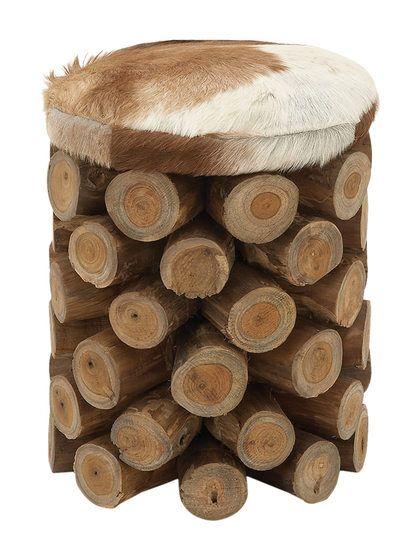 Log Stool by UMA at Gilt