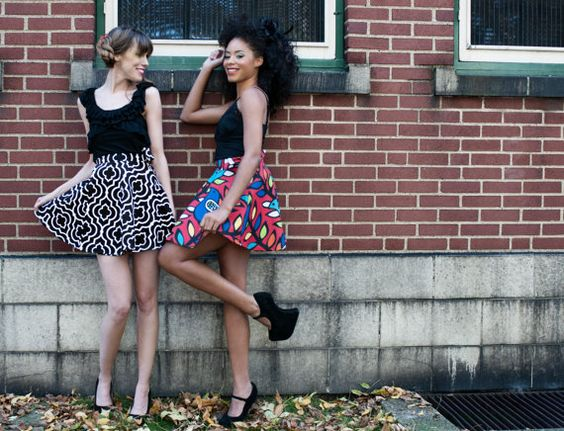Flirty Wrap Skirts Made to Order