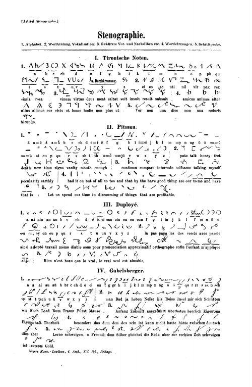 tachygraphie alphabet - Google-Suche