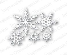 Impression Obsession Dies - Small Snowflake Set:
