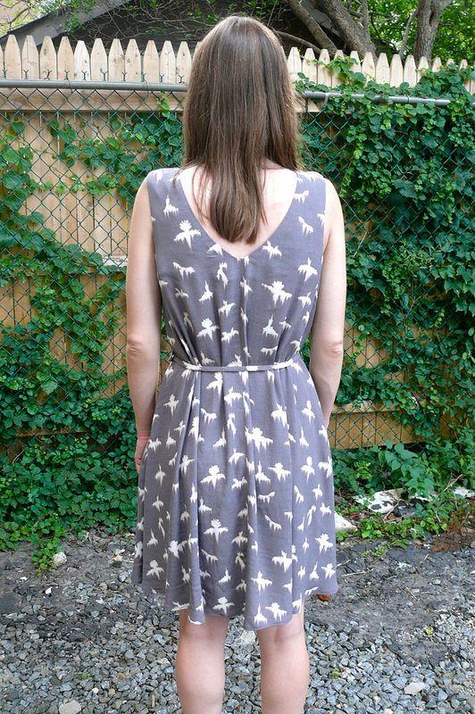 Papercut Patterns Sway Dress | Ginger Makes