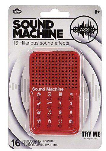 Geräusch-Generator SOUND MACHINE - Fun auf Knopfdruck!