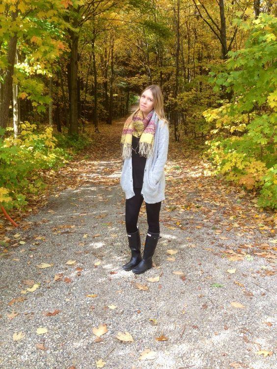 Fall style. #ootd // hauteallure.com