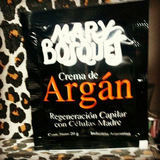 Divina crema capilar de #argan
