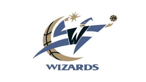 Shortly After The Club Relocated Wizards Logo Washington Wizards Washington