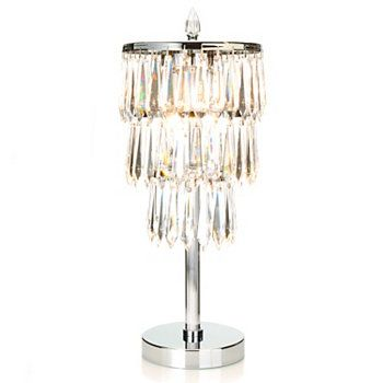 """Breathtaking but out of my price range.........Waterford® 22.5"""" Monique Etoile Nouveau Crystal Table Lamp"""