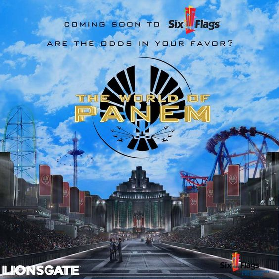 Hunger Games Six Flags: