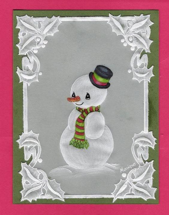 Modelos de tarjetas espa olas navide as tarjetas en - Manualidades con papel navidenas ...