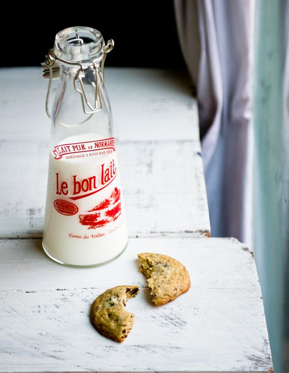 salt milk jars cookies salts chocolate milk biscotti jars latte love ...