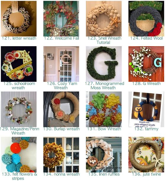 310 wreath tutorials - Seriously awesome website. Can't wait to try some