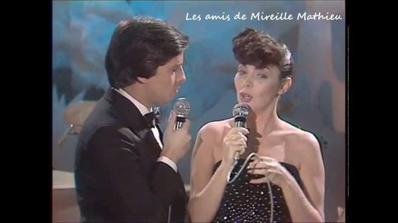 Mireille Mathieu et Thierry Le Luron.  Numéro 1 - MM.1979. Inédit sur le...