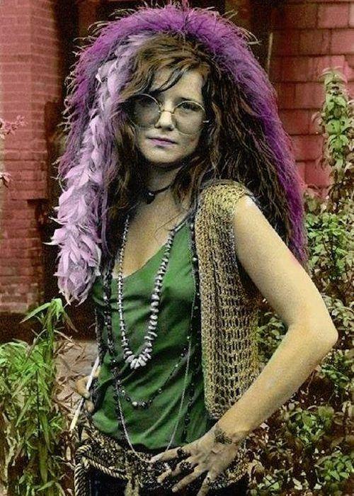 Janis joplin fashion mode style