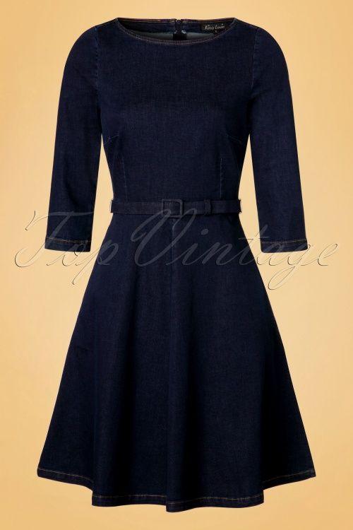 King louie Betty Dress Denim 19112 20160819 0004W                                                                                                                                                     Mehr