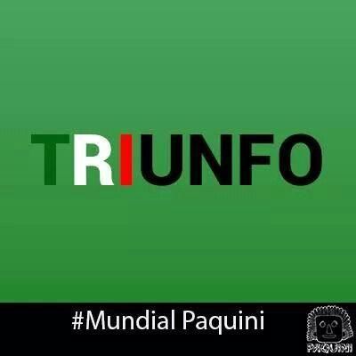 Apoyemos a México en este nuevo partido. #México #Brasil2014 #WorldCup #Football #TRI