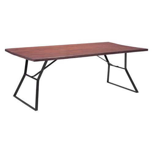 Omaha Dining Table Distressed Cherry Oak (100428)
