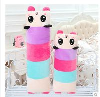 Frete grátis! 2014 produto quente quente- venda crianças cartoon panda boneca travesseiro pelúcia travesseiro pode desfazer e lavagem