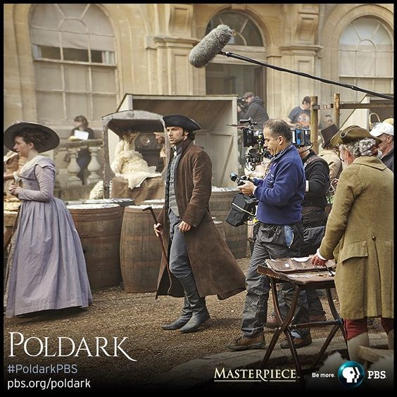 #PoldarkPBS MASTERPIECE on @pbsofficial #BTS #onset