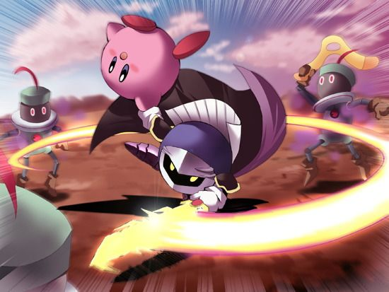 Meta Knight and Kirby Vs. The Shadow Bugs. I love meta knight he is awesome. He…