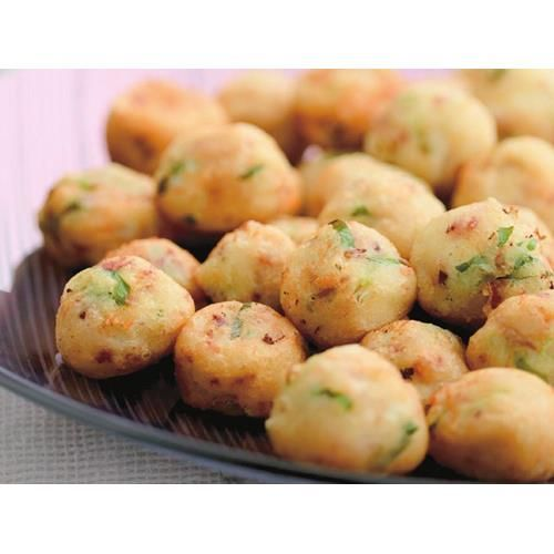 Potato and goat cheese puffs recipe | FOOD TO LOVE