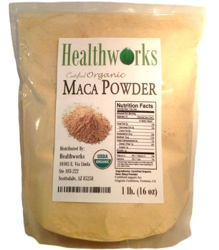 FOOD OF THE INCAS: HealthWorks-Wild Organic Peruvian Maca Root ...