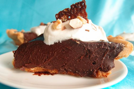 Nutella pie, Pies and Whipped cream on Pinterest