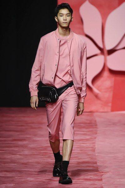 Image result for men fanny pack trend spring 2017