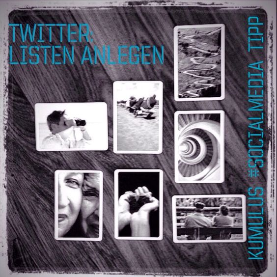 Drüben bei #Twitter ist Ordnung alles. Der #kumulus #SocialMedia-Tipp zeigt, warum und wie.