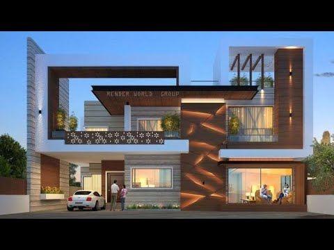 Top 100 Small House Front Elevation Design Ideas 2020 Hashtag Decor Youtube In 2021 Modern Exterior House Designs Facade House Modern Bungalow Exterior