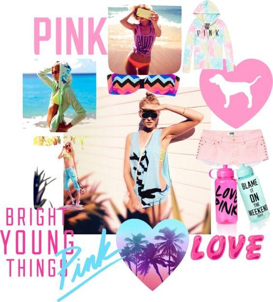 """Think Pink Break!"" by deebenzdee on Polyvore"