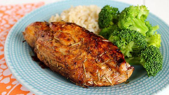 Balsamic rosemary chicken breast