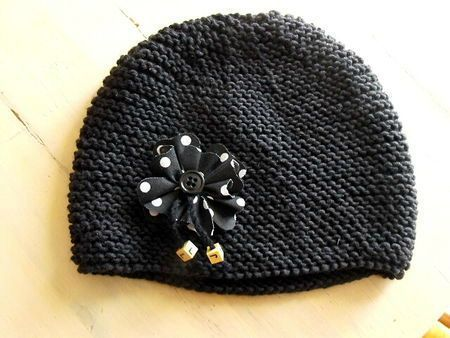 modele bonnet bebe aiguille 4