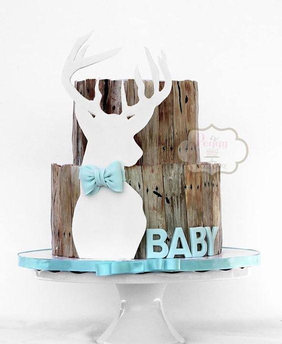 baby shower cakes deer baby shower cakes baby boy deer shower baby