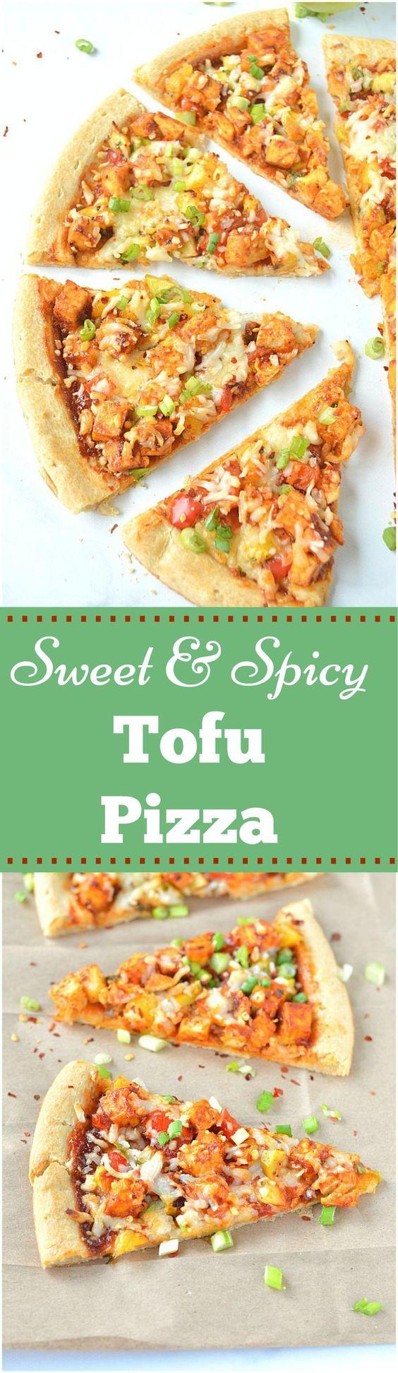... jerk tofu and homemade pineapple salsa. So crusty, flavorful and