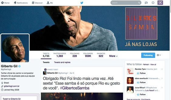 "Novo layout do Twitter - ""é como se tivessem melhorado o layout do Facebook"" - Blue Bus"