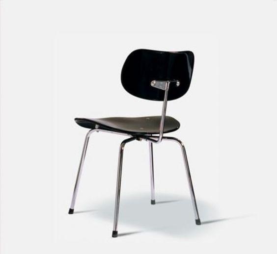 Eiermann Sessel in weiß