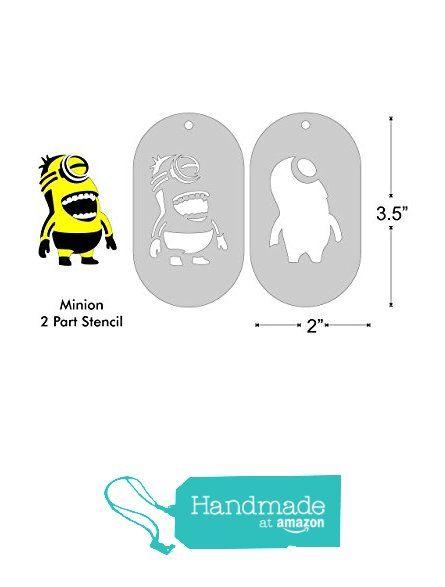 2 Part Stencil Set- Minion, Medium from Underdog Press https://www.amazon.com/dp/B01AYUS6LA/ref=hnd_sw_r_pi_dp_Oifyyb0P6Q148 #handmadeatamazon