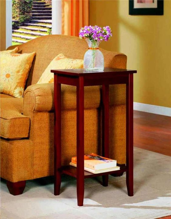 Details About Cheap Furniture Tall End Table Living Room Home