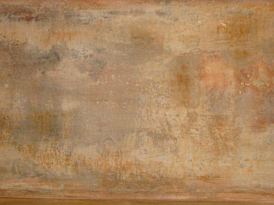 photo d 39 un effet de mati re mur vieilli enduit et blanc de meulon patine et finition mate. Black Bedroom Furniture Sets. Home Design Ideas