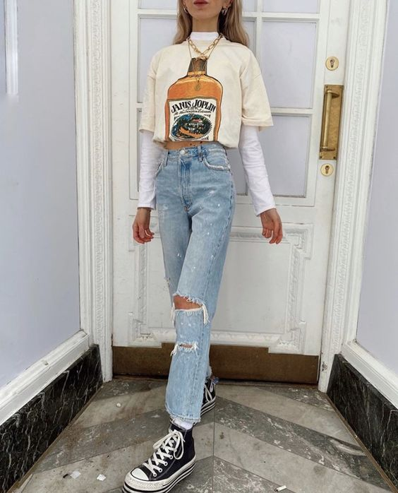 depop aesthetic fashion graphic t shirt outfit oliviabynature instagram | depop aesthetic and how to get it by soyvirgo.com