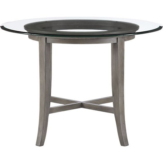 Halo Grey Round Dining Table with 42quot Glass Top Halo  : 3d170fec0566b5aae3b338ceb669c044 from www.pinterest.com size 558 x 558 jpeg 17kB