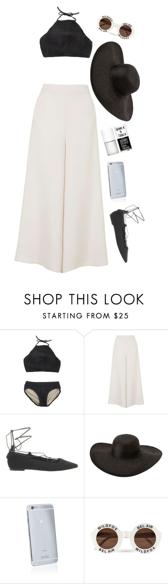 """""""Vacation"""" by comiz ❤ liked on Polyvore featuring Topshop, Office, Goldgenie, Wildfox and Uslu Airlines"""