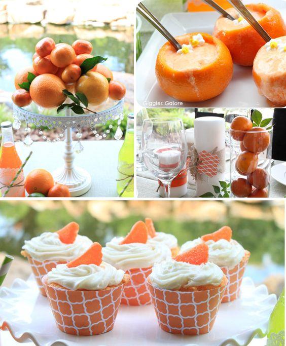 Summer Citrus Dinner Party