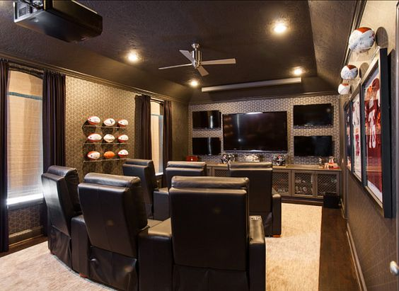 Small Home Theater Design: Media Room This Is The Most Amazing #MediaRoom