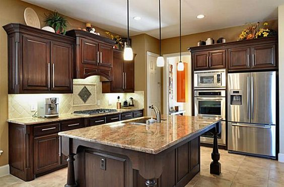 Best This Kitchen By Highland Homes Looks Super Love The Dark 400 x 300