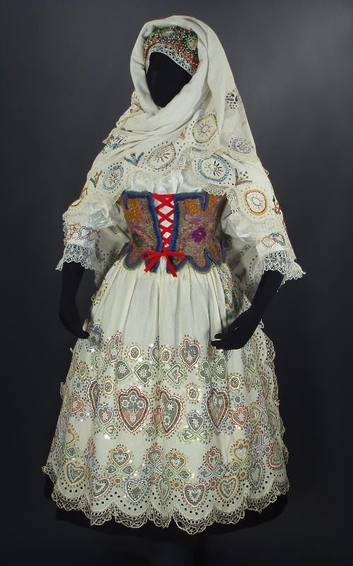 Woman's costume from Blata (Bohemia), Czech Republic by EthnicDress on Flickr