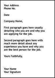 simple cover letter resume